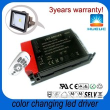 800ma 60W 24~42V remote control color changing outdoor led flood light LED driver