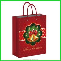 Yiwu Yilong Package Cheap Merry Christmas Gift Bag, OEM Christmas Paper Gift Bag