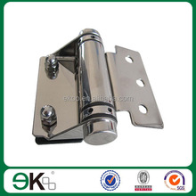 Stainless steel spring hinge glass to square post hinge self-closing spring hinge