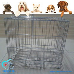 good qiality stainless steel veterinary cage with opening roof