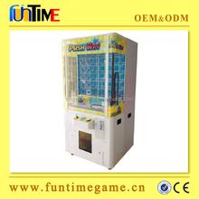 key master vending machine, push win prize machine for sale