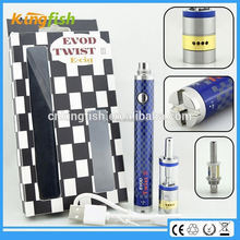 kingfish product airflow control evod twist 3 m16 alibaba express hot with factory price