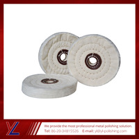 2015 Hot promotional From 4 inch to 16 inch cloth buffing wheel