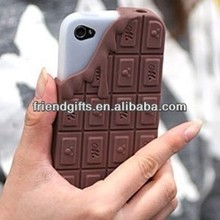 Promotion chocolate shaped beautiful cell phone case