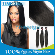 100% Real Girl Human Virgin Chinese Straight Hair From China Extensions
