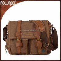 Shoulder School Leather Men Menssenger Bags