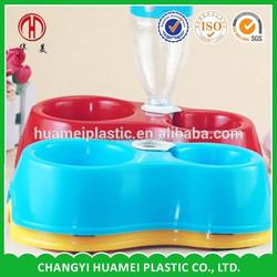 plastiic dog feeder bowl