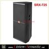 High Quality RCF 15 Inch Full Range Dual Speakers SRX-725