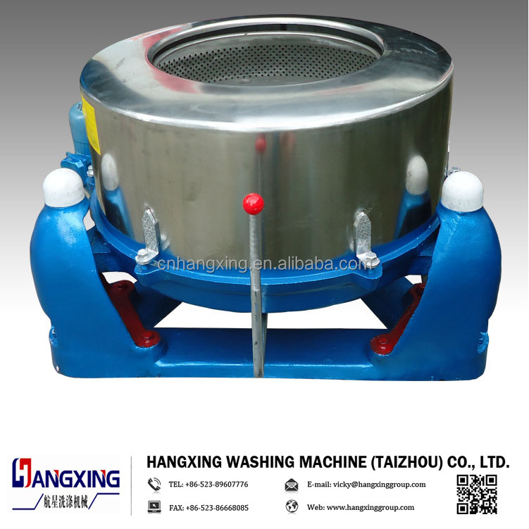 Laundry Water Extractor ~ Centrifugal dewatering machine for clothes laundry shop