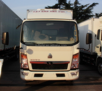 Promotion HOWO refrigerated cold room van and truck in dubai