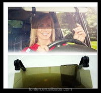 HD Clear View Vision Day Night Car Sunshade Goggles Sun Visor Anti-Glare UV Blocker Anti-dazzle Mirror Fold Flip Down