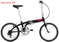 2015 HOT desigh 20 inch China folding bike/ 6061 alloy frame folding bicycle with 7 speed