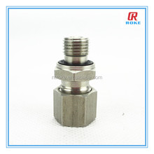 straight NPT/BSP male threaded end tube fitting with ED seal