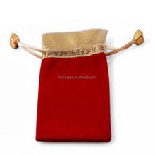 brand name special design oem velvet pouches gift bag