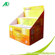 Save Shipping Cost cardboard pallet display/ display racks for pharmacy firm and useful