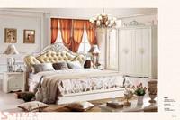 2015 leather bedhead sheesham wood bedroom furniture