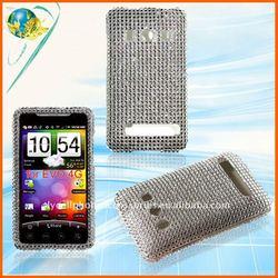 Silver diamond case for HTC Evo 4G