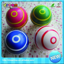 The colorful mini pu 6.3 cm high bouncing rubber ball