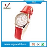 Trendy lady watches flower design luxury watches supplier cheap watches