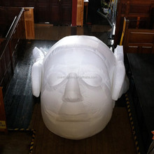 Customize Inflatable Figure Head/inflatable artwork for exhibition