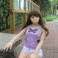 Drop shipping silicone small young girl 150cm full silicone sex doll male sex toys