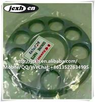 Excavator spare parts KPM swing motor Kawasaki hydraulic pump retainer plate