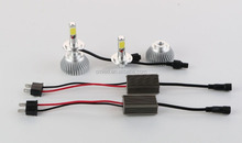 2015 NEW 5th cooper wire 6000lms car H7 H4 led headlight bulbs