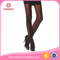 Dancer party dress fashion show style black reflections tights women in sexy leggings