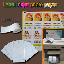 glossy blank sticker self adhesive photo printing paper