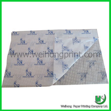 blue printed wrapping tissue paper wholesale for clothes & shoes
