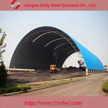 Hot sale Construction Building Light Steel Structure For Coal Storage
