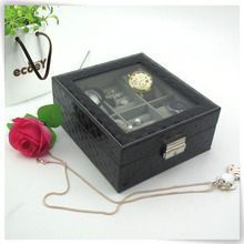 kraft packaging box pu leather treasure tree branch jewellery stand holder