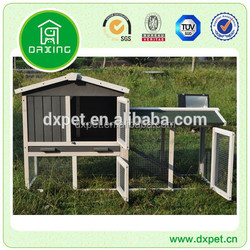 Cheap handmade wooden chinese large outdoor pet rabbit cage