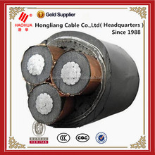 25/36KV Electrical aluminum round core XLPE insulated power cable
