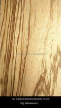 New Item natural zebrano wood veneer sheet for furniture plywood