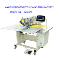 model of XX - 3020 computerized programmable sewing machine widely used in industry manufactory