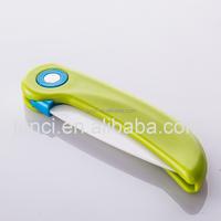 innova ceramic folding knife sets with knife cover