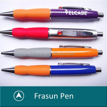 Metal Click Pen,Click OPen Metal Pen With Rubber Grip