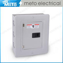 100A TLS small residential 6 way single phase customized electrical load centers/modular enclosures/panel box