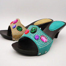 sequined native clog for girls