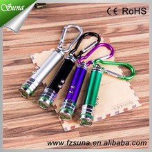 Hottest Trendy New Style Red Laser Line Pointer Keychain