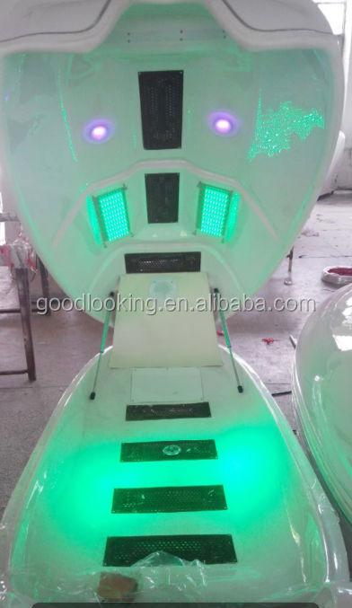 Guangzhou hot sale infrared ozone cabinet/Infrared Dry Steam Sauna Cabin/slimming spa capsule/ Salon Infrared Light Spa Capsule