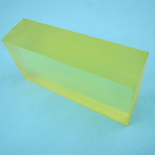 Natural Color Polyurethane Rubber Block