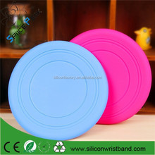Pet Toys Dog Silicone rubber Soft Frisbee Tooth Resistant Outdoor Dog Training Pet Supplies Flying Disc Tooth Fetch Pet Toy