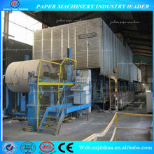 2100mm sack kraft liner paper making machine
