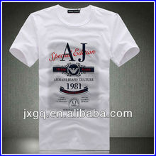 100% polyester fashion design bulk men's wholesale cheap branded tshirts
