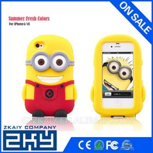 Lovely Useful Vivid Colorful Soft Smiling Design Silicone Phone Case