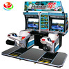 coin operated arcade simulator Moto GP4 racing game machine