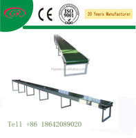 pvc Food Belt Conveyor /industry modular plastic inclined belt conveyors