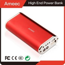 LED Flashlight Metal Case OEM Power Bank External Battery For Most Portable Devices Charging Gadgets CE FCC ROHS 1 Year Warranty